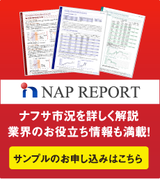 NAP REPORT ナフサ市況を詳しく解説業界のお役立ち情報も満載! サンプルのお申し込みはこちら